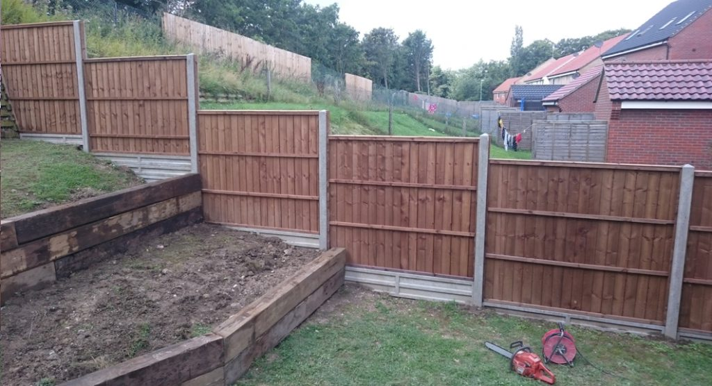 Fencing in Brandon Suffolk